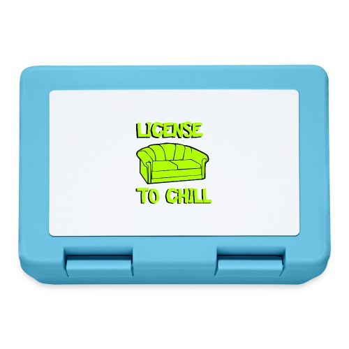 License to chill - Broodtrommel