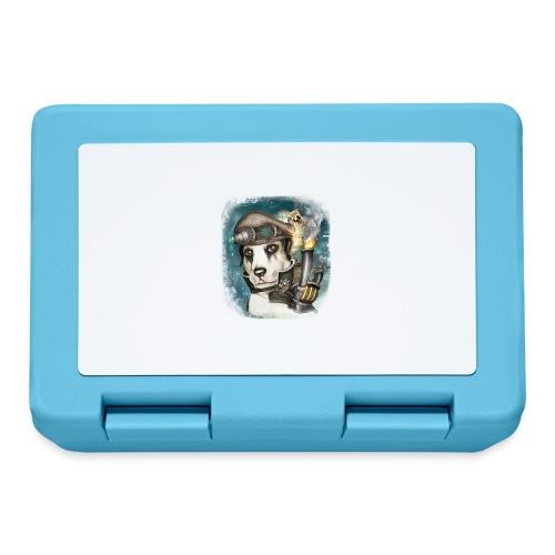 Steampunk Dog #2b - Lunch box
