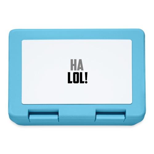 The CrimsonAura 'Ha LOL!' Stream Quote. - Lunchbox