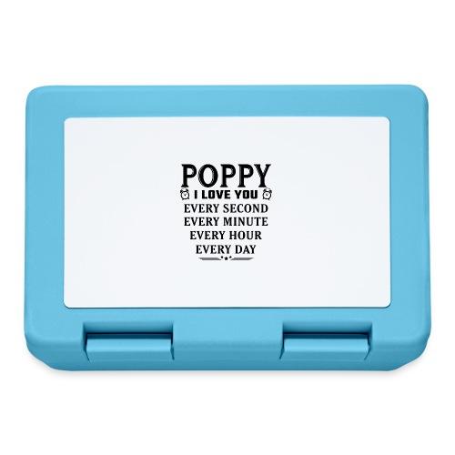 I Love You Poppy - Lunchbox