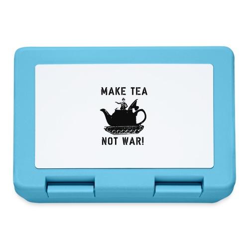 Make Tea not War! - Lunchbox