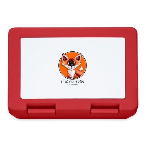 llwynogyn - a little red fox (black) - Madkasse
