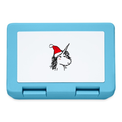 unicorno Natale - Lunch box