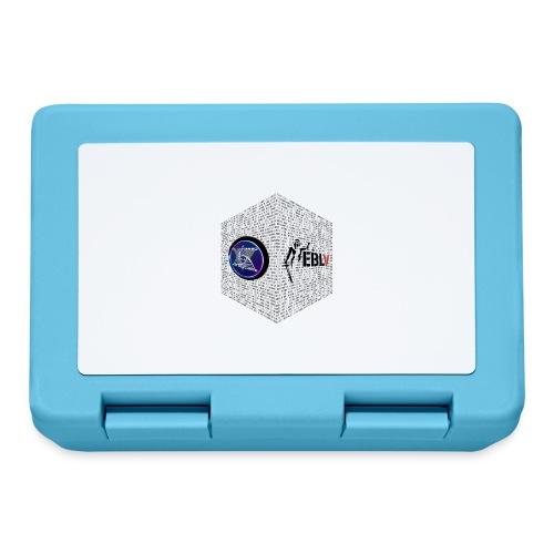 disen o dos canales cubo binario logos delante - Lunchbox