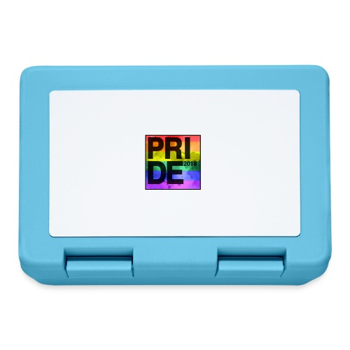 Pride 2018 Rainbow Block - Lunchbox
