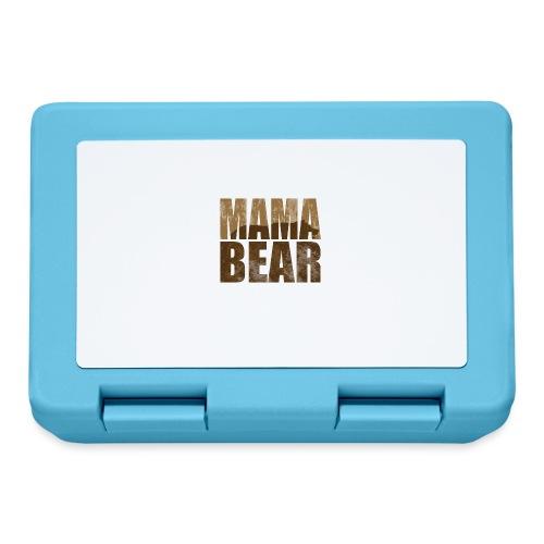 Mama Bär Design Bären Mutter Geschenk Idee - Brotdose