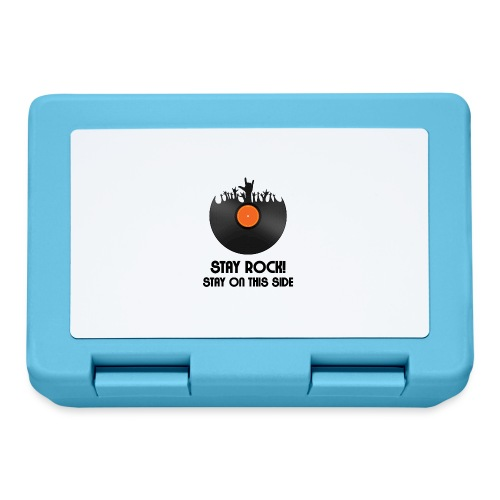 Stay Rock! Stay on this side. - Lunch box