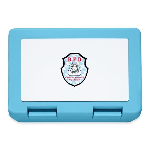 Inoffizielles bayrisches Feuerwehrabzeichen - Brotdose