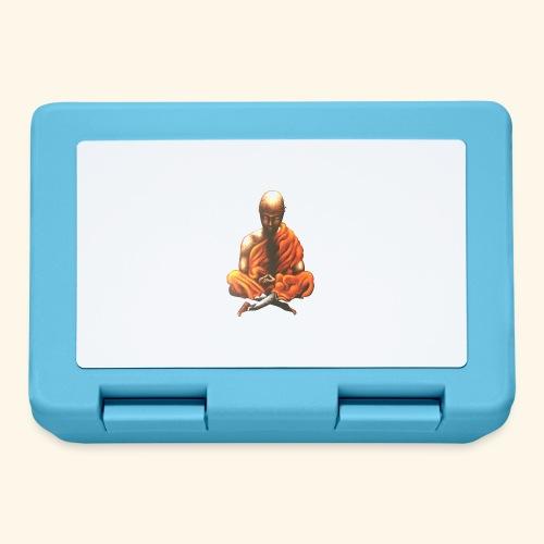 Yoga Meditation Spiritueller Buddhistischer Mönch - Brotdose