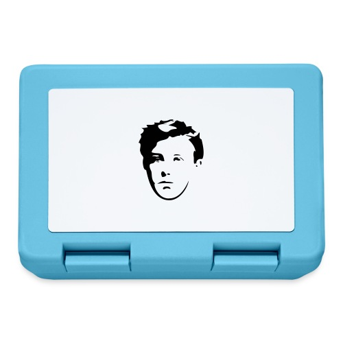 Arthur Rimbaud visage - Boîte à goûter.