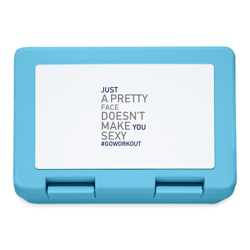 Just a pretty face... - Lunchbox