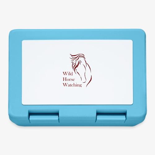 Logo Aveto Wild Horses - Lunch box