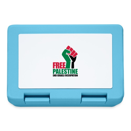 Free Palestine End Israeli Occupation - Lunchbox