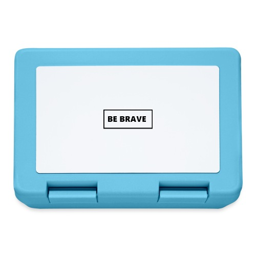 BE BRAVE Tshirt - Broodtrommel