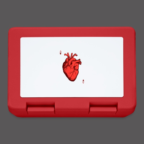 Herz Ass - Brotdose