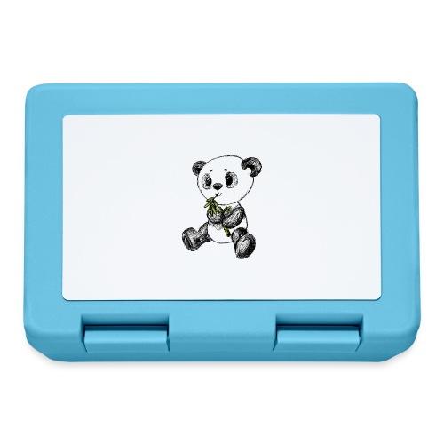 Panda bjørn farvet scribblesirii - Madkasse