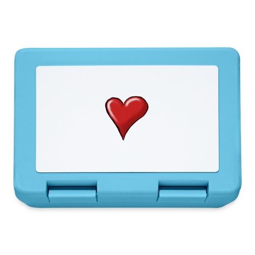 Love (coeur) - Boîte à goûter.