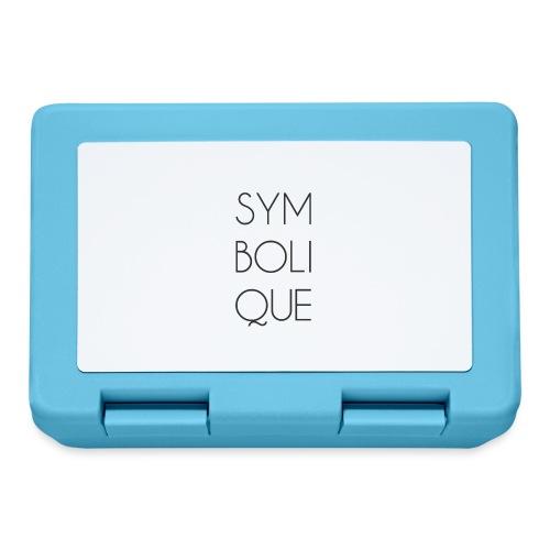 Symbolique - Boîte à goûter.