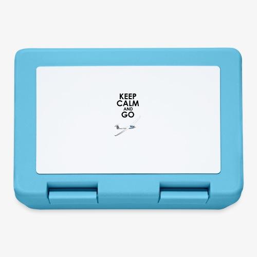 Keep Calm and Go Gliding - Boîte à goûter.