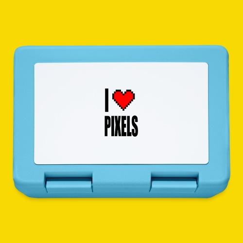 I Love Pixels - Pudełko na lunch