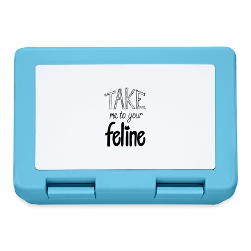 Take Me To Your Feline! - Lunchbox