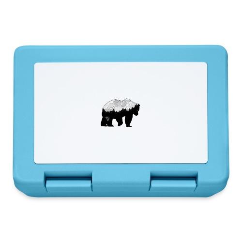 Geometric Mountain Bear - Lunch box