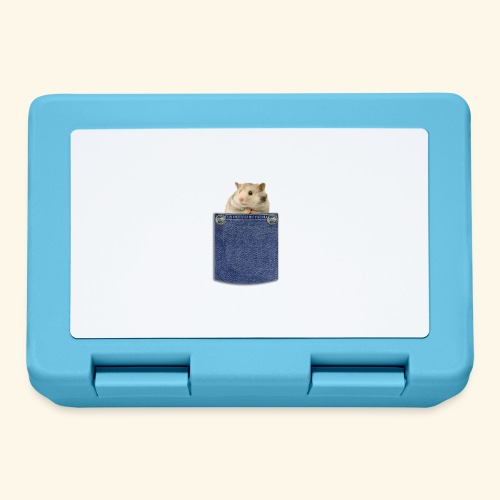 hamster in the poket - Lunch box