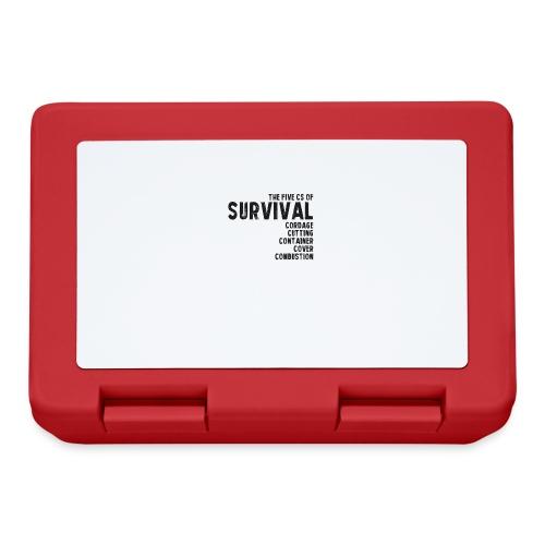 5Cs of Survival List - Matlåda