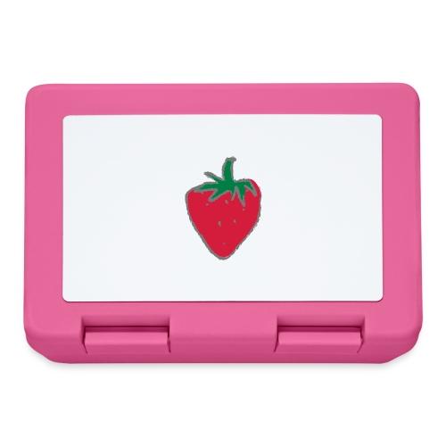 Erdbeere - Brotdose
