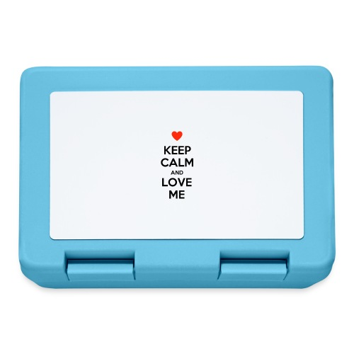 Keep calm and love me - Lunch box
