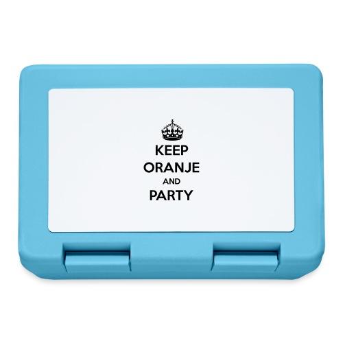 KEEP ORANJE AND PARTY - Broodtrommel