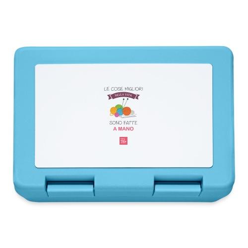 Le cose migliori nella vita sono fatte a mano - Lunch box