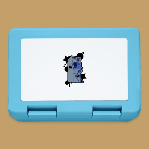 Hi-Score Silver X-ray - Pudełko na lunch
