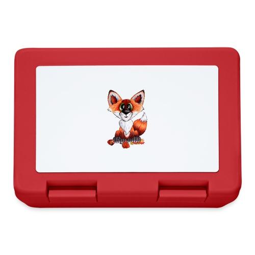 llwynogyn - a little red fox - Madkasse