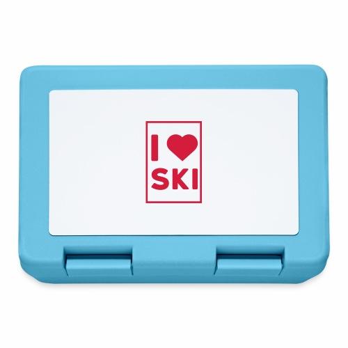 I love ski - Boîte à goûter.