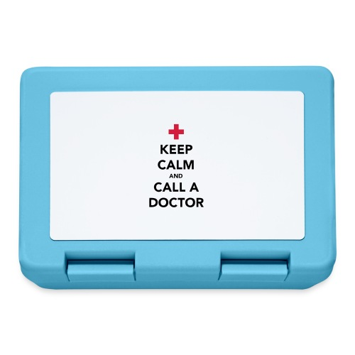Keep Calm and Call a Doctor - Lunchbox