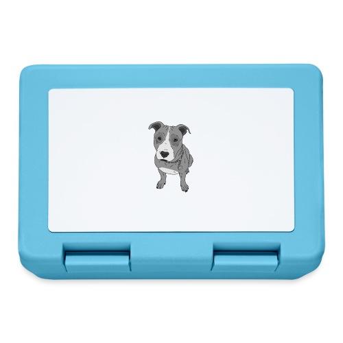 Hundeblick Hund süß Stafford Geschenk Idee - Brotdose