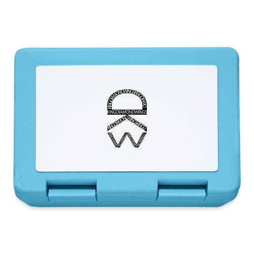 King Diamond Wings Logo - Lunchbox
