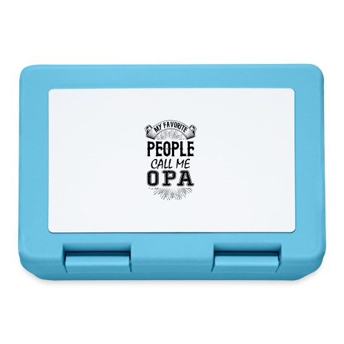 My Favorite People Call Me Opa - Lunchbox