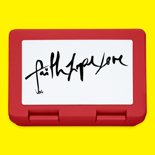 Faith Hope Love - Lunchbox