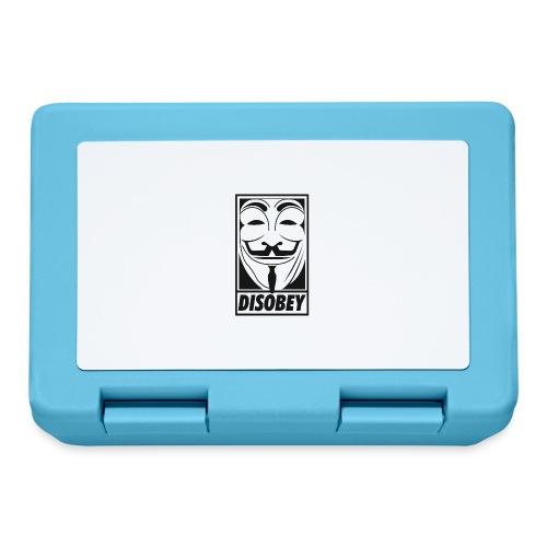 Anonymous disobey - Boîte à goûter.