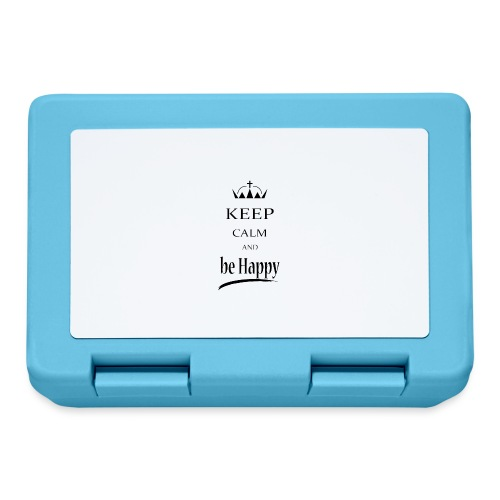 keep_calm and_be_happy-01 - Lunch box
