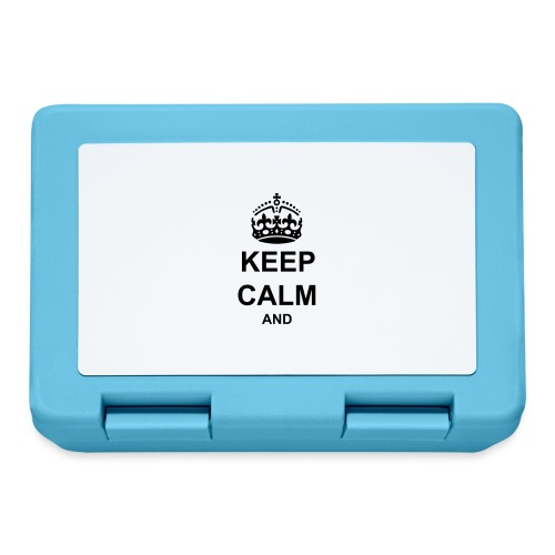 Keep Calm And Your Text Best Price - Lunchbox