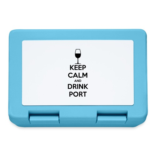 Keep Calm and Drink Port - Lunchbox