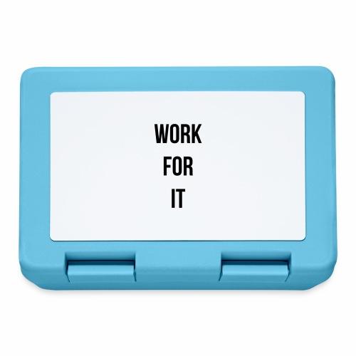 work for it - Broodtrommel