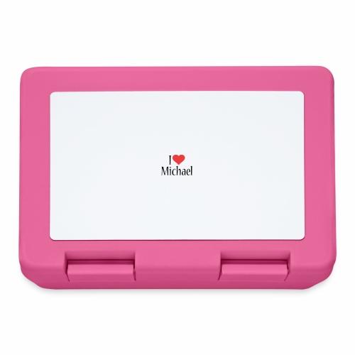 Michael designstyle i love Michael - Lunchbox
