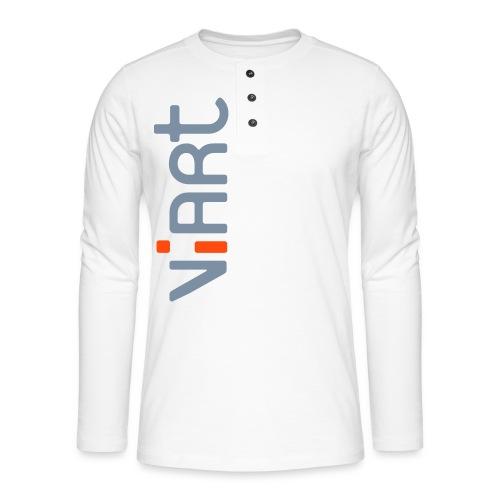 ViArt Logo - Henley Langarmshirt