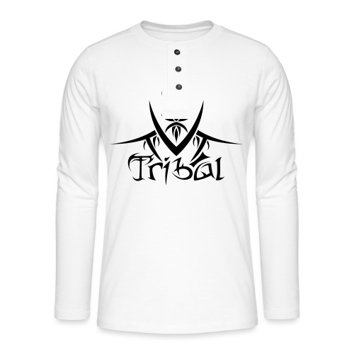 Motif Tribal 1 - T-shirt manches longues Henley