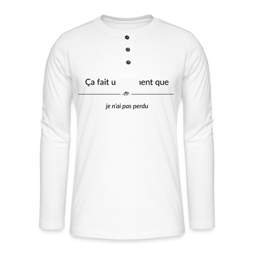 cafaitunmomentque jenaipa - T-shirt manches longues Henley
