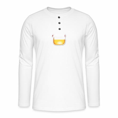 Liekkikuviollinen vaate - Henley pitkähihainen paita